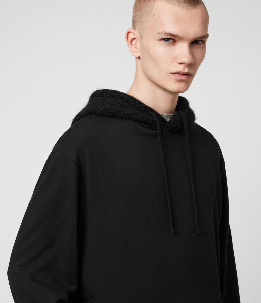 Men's Cicero Pullover Hoodie (jet_black) - Image 2