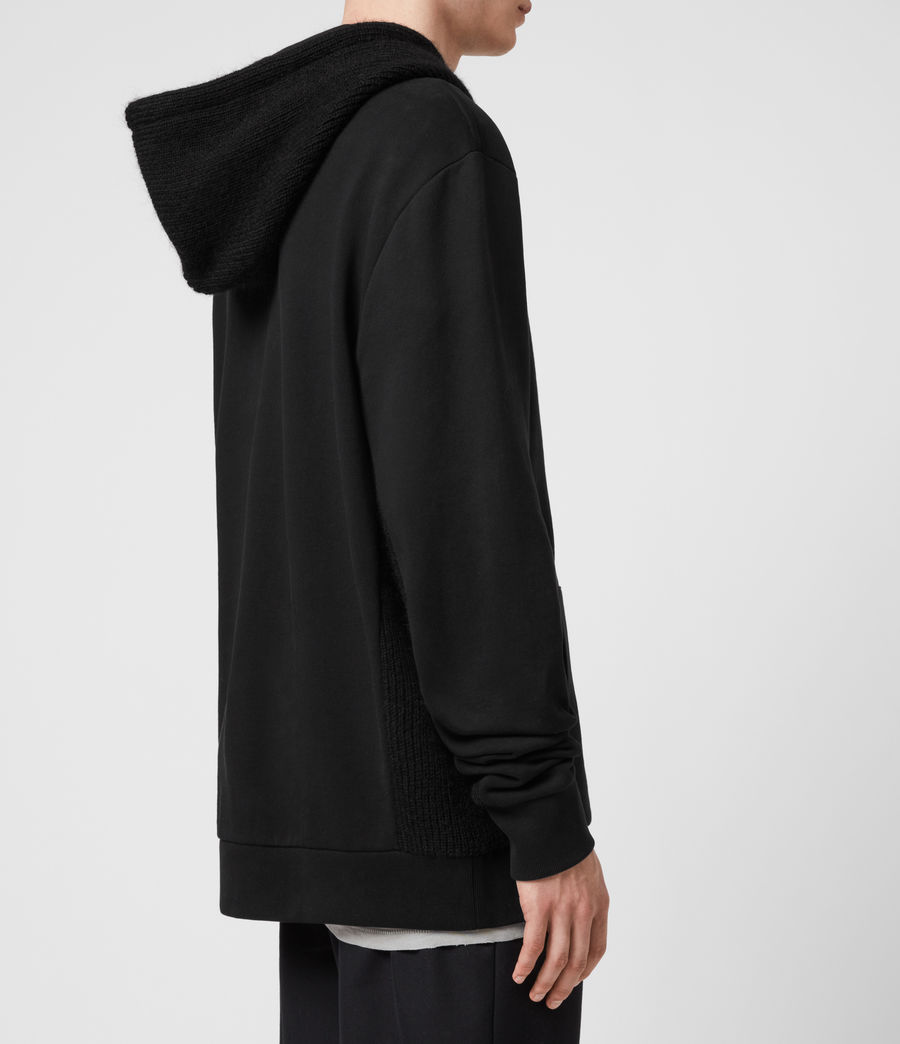 Men's Cicero Pullover Hoodie (jet_black) - Image 4