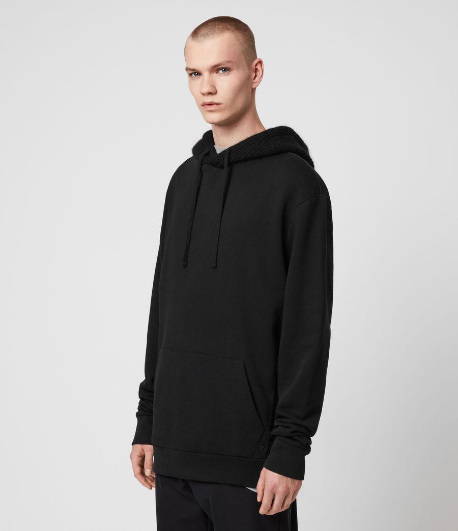 Men's Cicero Pullover Hoodie (jet_black) - Image 5