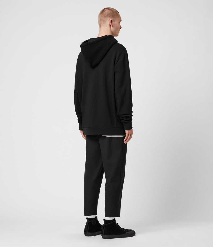 Men's Cicero Pullover Hoodie (jet_black) - Image 6