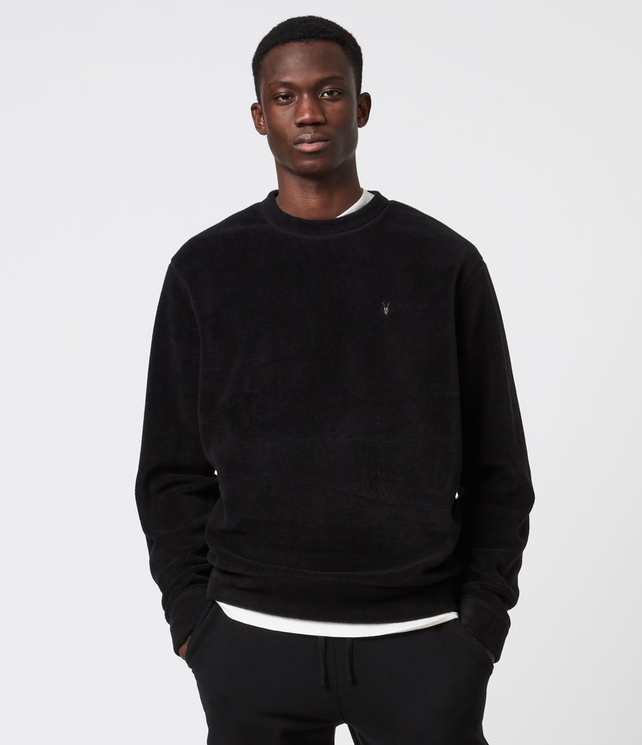 Men's Torin Crew Sweatshirt (jet_black) - Image 1
