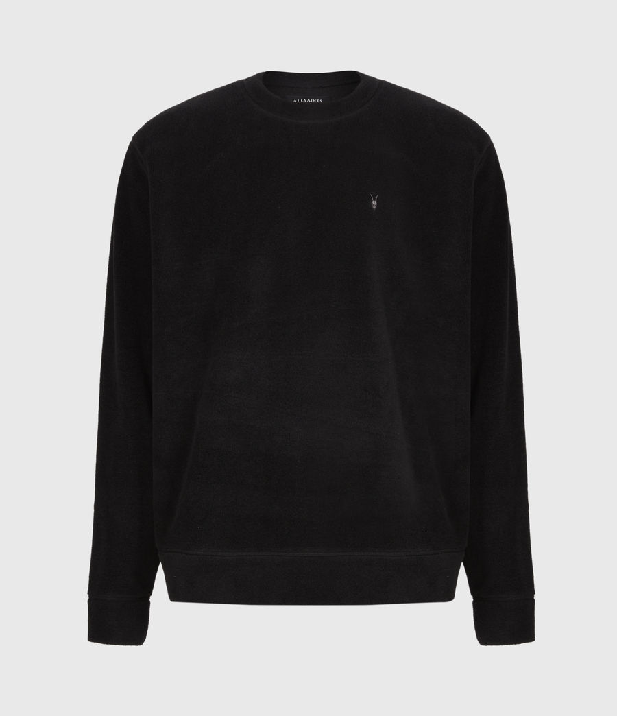 Men's Torin Crew Sweatshirt (jet_black) - Image 2