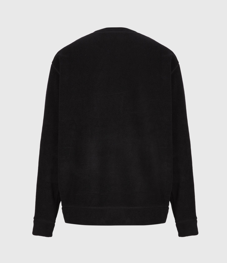 Men's Torin Crew Sweatshirt (jet_black) - Image 3