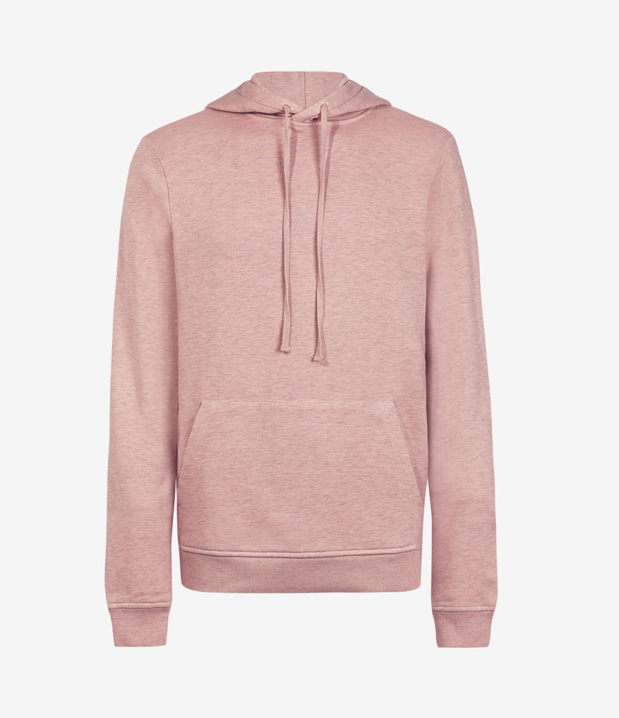Hombres Dyer Pullover Hoodie (pink_marl) - Image 2