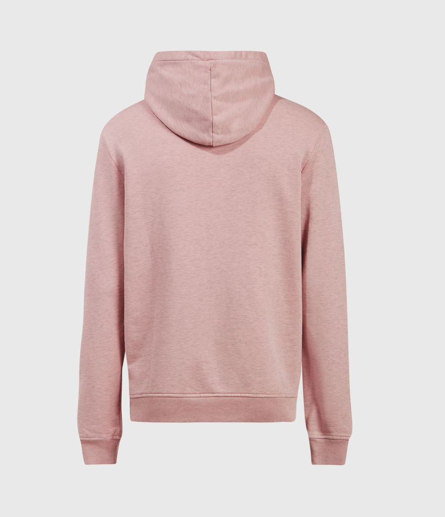 Hombres Dyer Pullover Hoodie (pink_marl) - Image 3