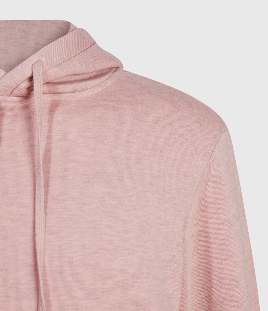 Hombres Dyer Pullover Hoodie (pink_marl) - Image 4