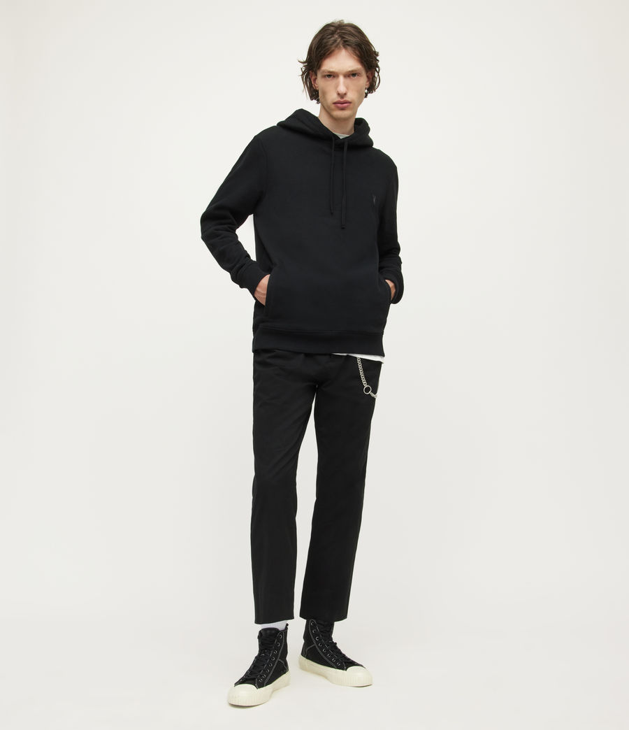 Hombre Raven Pullover Hoodie (sunset_pink_marl) - Image 3