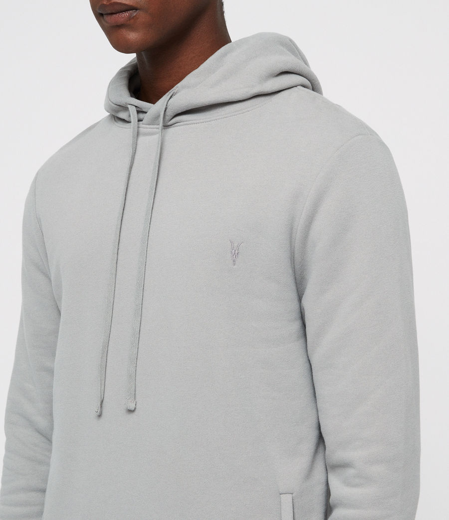 Mens Raven Pullover Hoodie (tin_grey) - Image 2