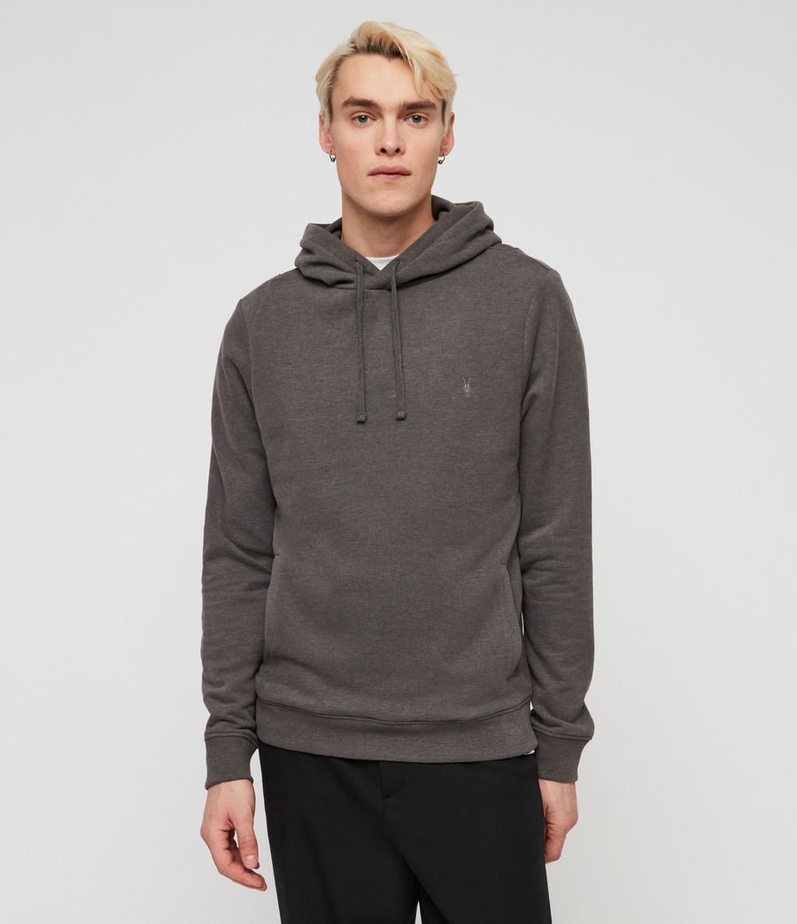 Mens Raven Pullover Hoodie (clover_grey_marl) - Image 1