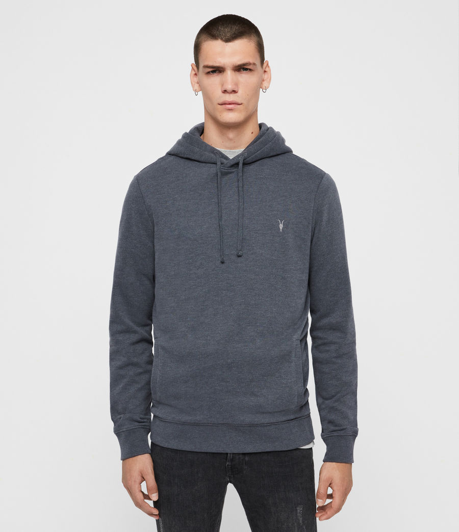Mens Raven Pullover Hoodie (oyster) - Image 1