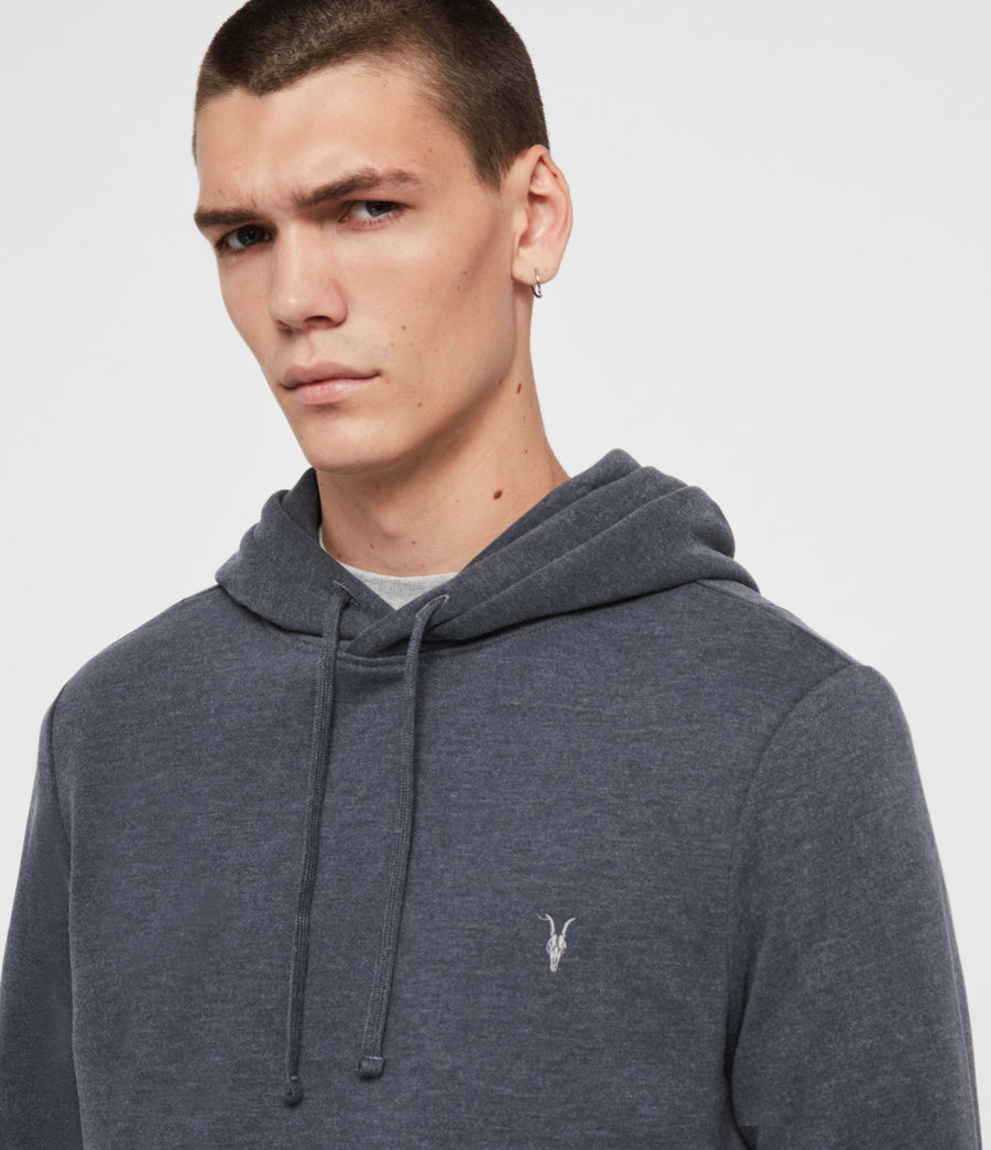 Mens Raven Pullover Hoodie (oyster) - Image 2