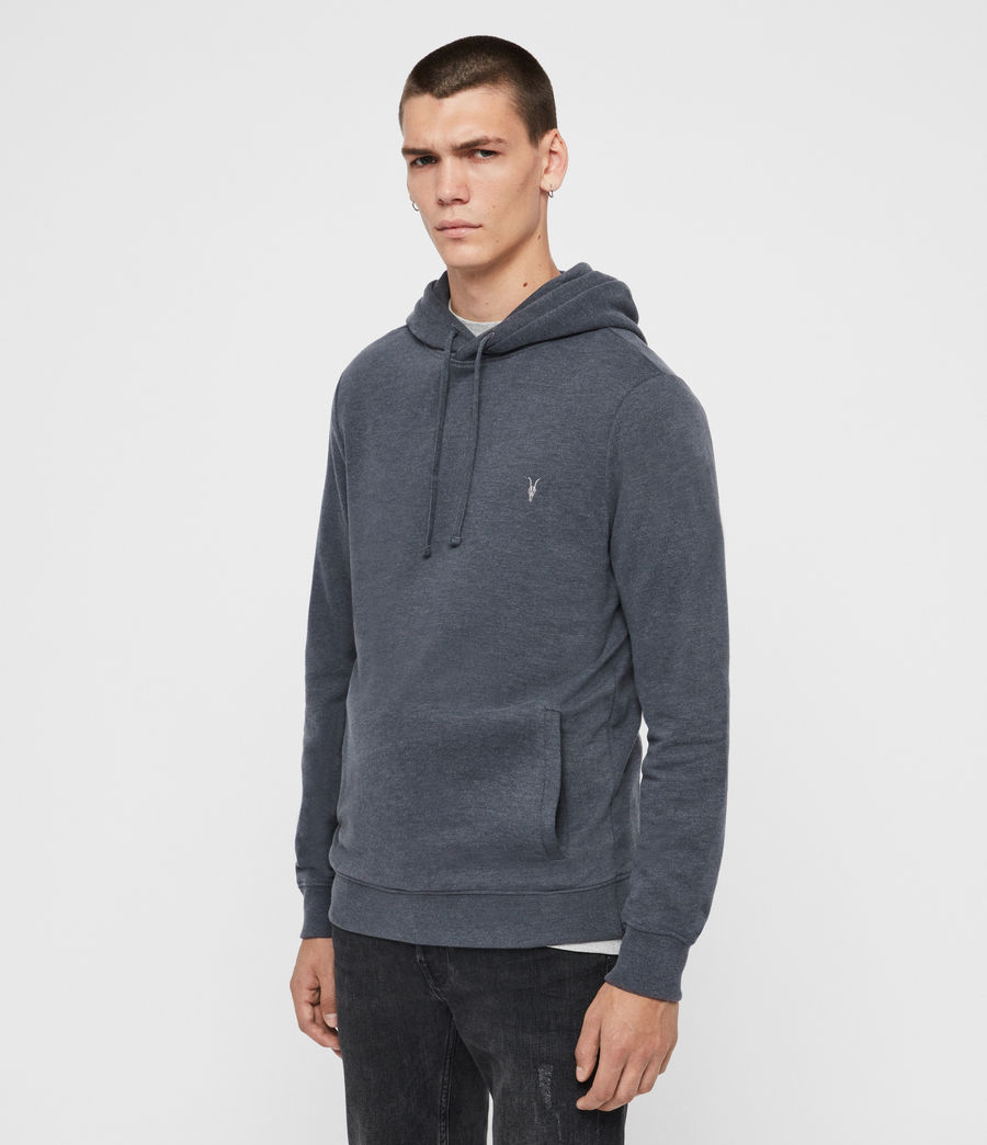 Mens Raven Pullover Hoodie (oyster) - Image 4