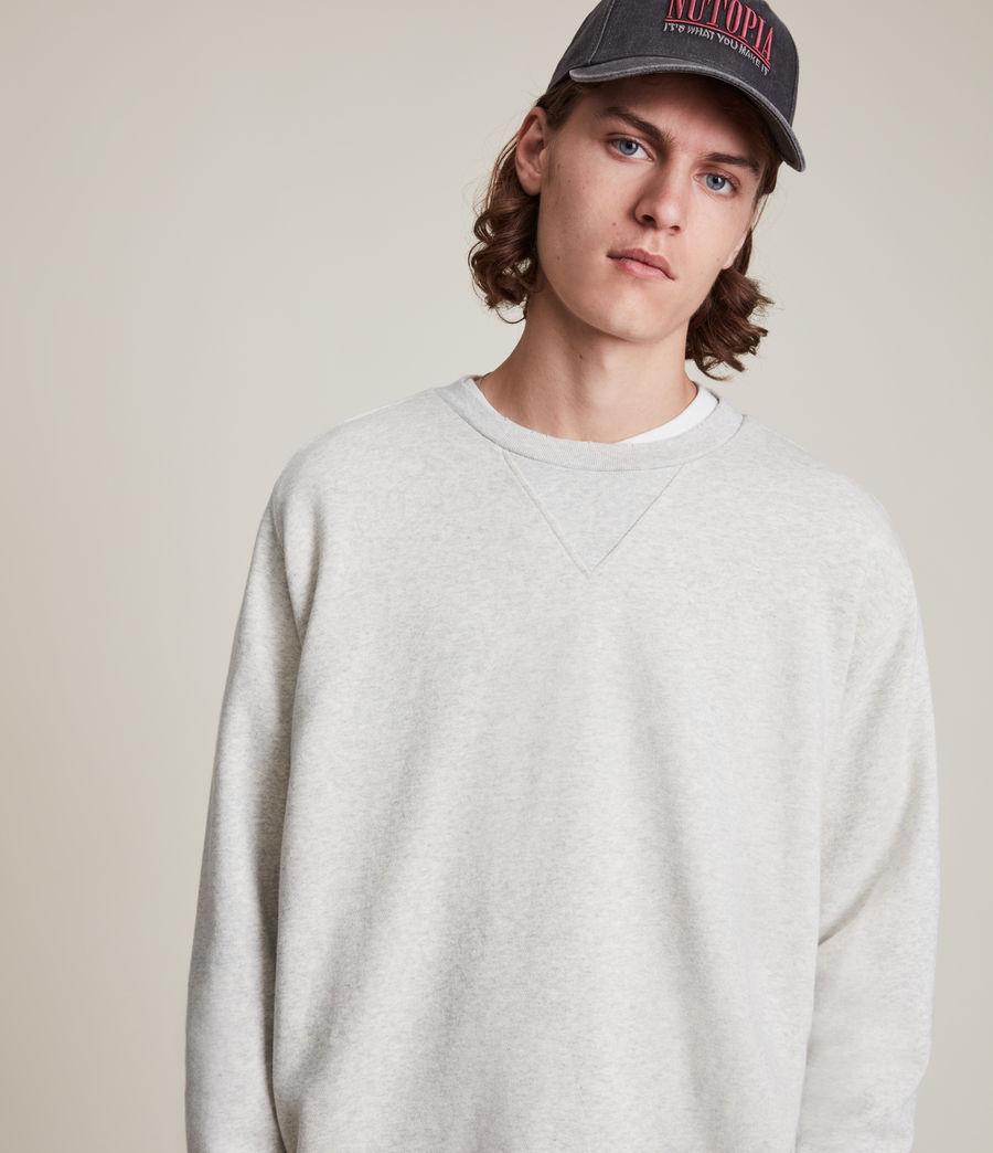Herren Burnish Crew Sweatshirt (grey_marl) - Image 1
