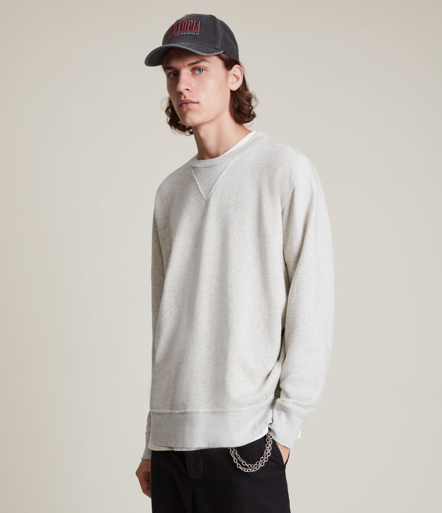 Herren Burnish Crew Sweatshirt (grey_marl) - Image 2