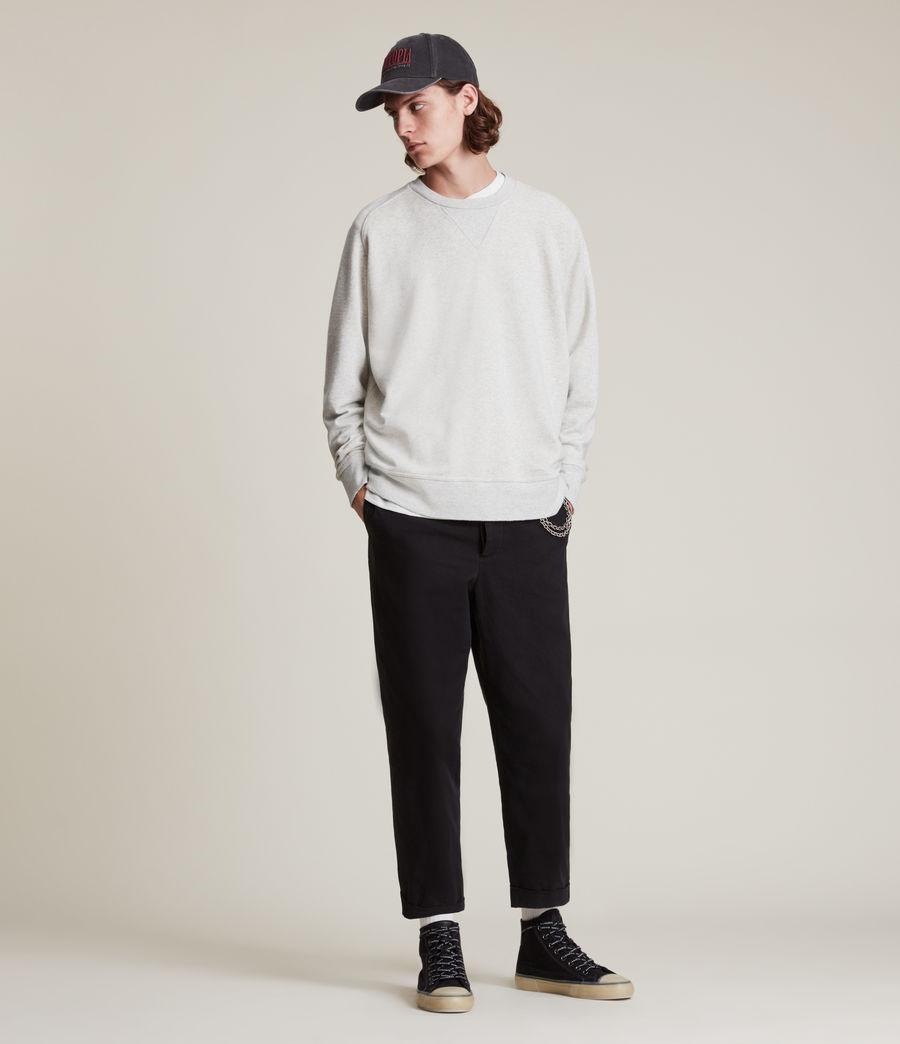 Herren Burnish Crew Sweatshirt (grey_marl) - Image 3
