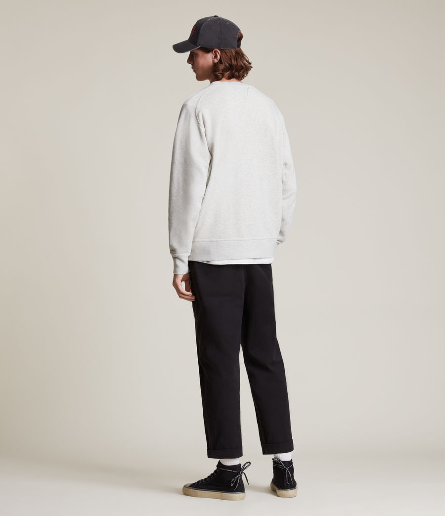 Herren Burnish Crew Sweatshirt (grey_marl) - Image 4
