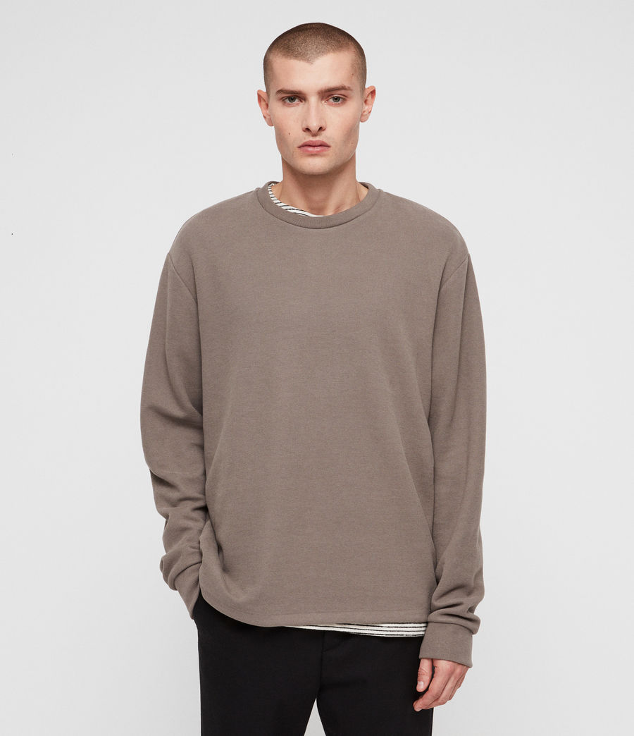 Mens Newis Crew Sweatshirt (core_grey) - Image 1