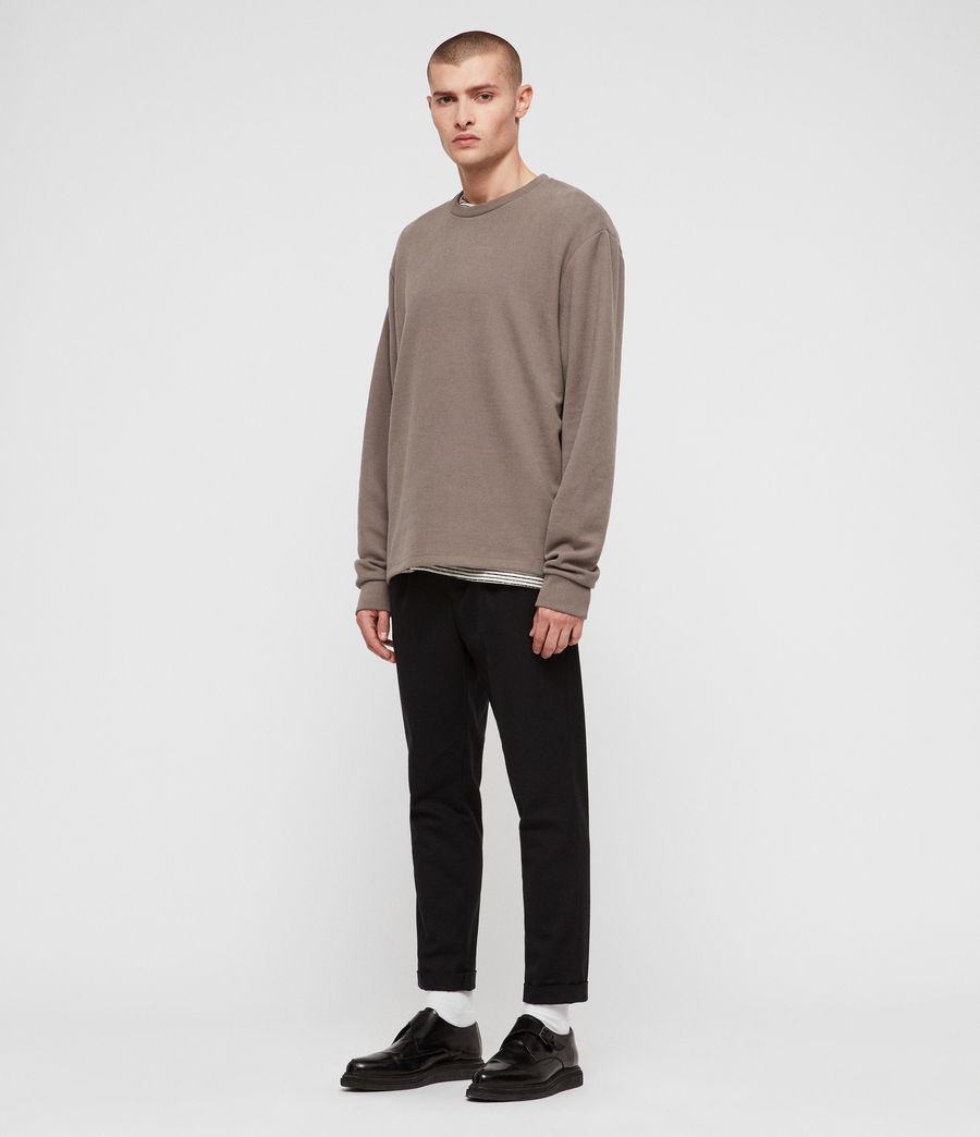 Mens Newis Crew Sweatshirt (core_grey) - Image 3