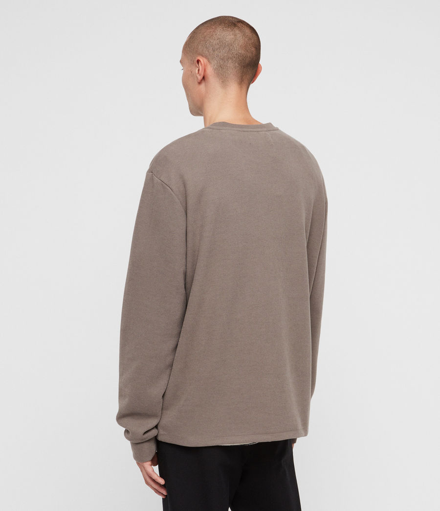 Mens Newis Crew Sweatshirt (core_grey) - Image 5