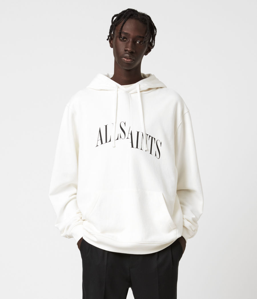 Men's Dropout Pullover Hoodie (chalk_white) - Image 1