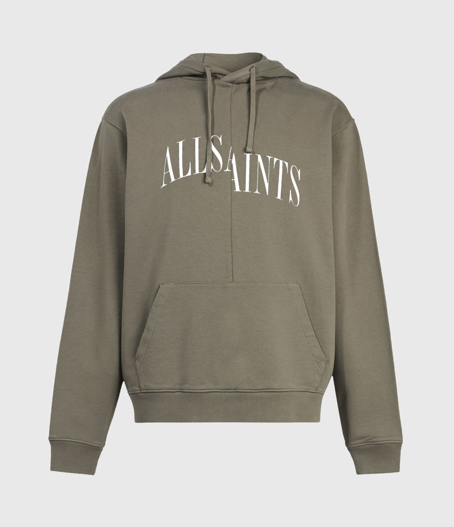 Men's Dropout Pullover Hoodie (washed_khaki_brown) - Image 2