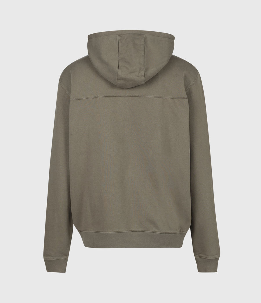 Men's Dropout Pullover Hoodie (washed_khaki_brown) - Image 3