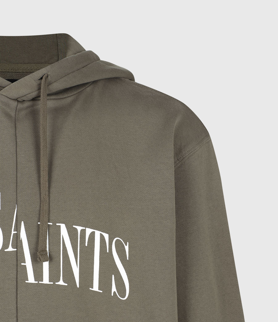 Men's Dropout Pullover Hoodie (washed_khaki_brown) - Image 5