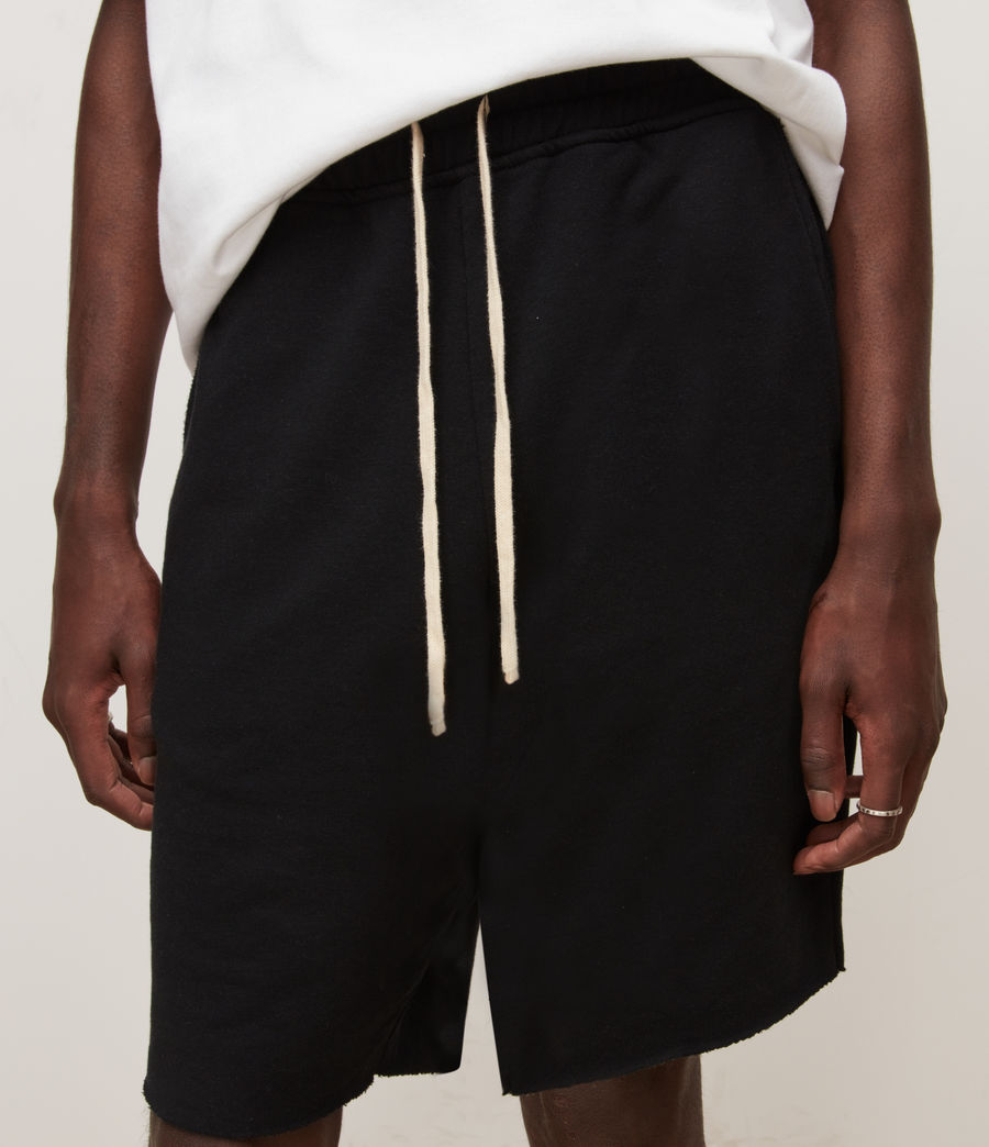 Men's Helix Sweat Shorts (jet_black) - Image 3
