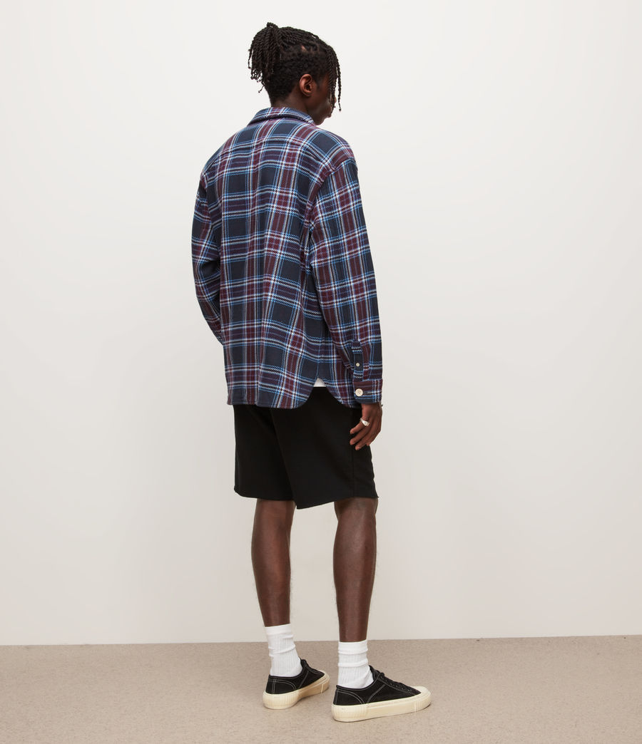 Mens Helix Sweat Shorts (jet_black) - Image 4