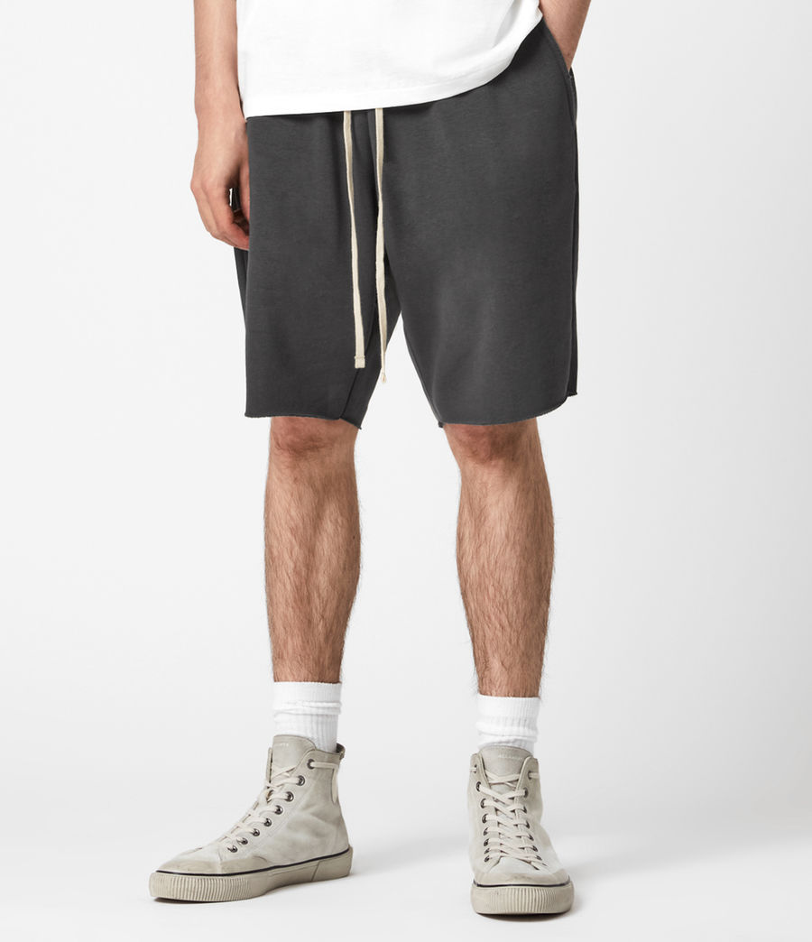 Uomo Helix Sweat Shorts (sidewalk_grey) - Image 1