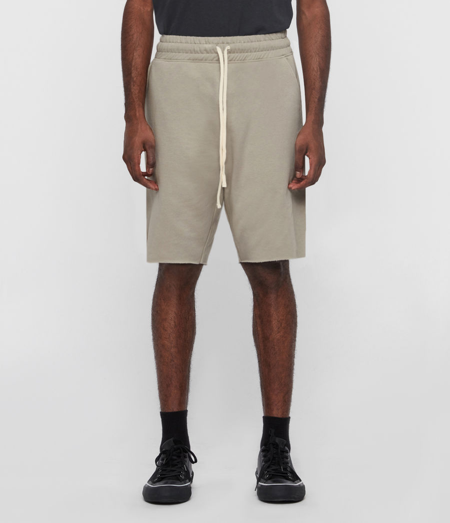 Mens Helix Sweat Shorts (limestone_taupe) - Image 3