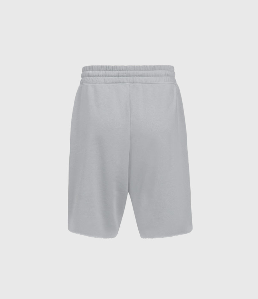 Mens Helix Sweat Shorts (lithium_grey) - Image 2