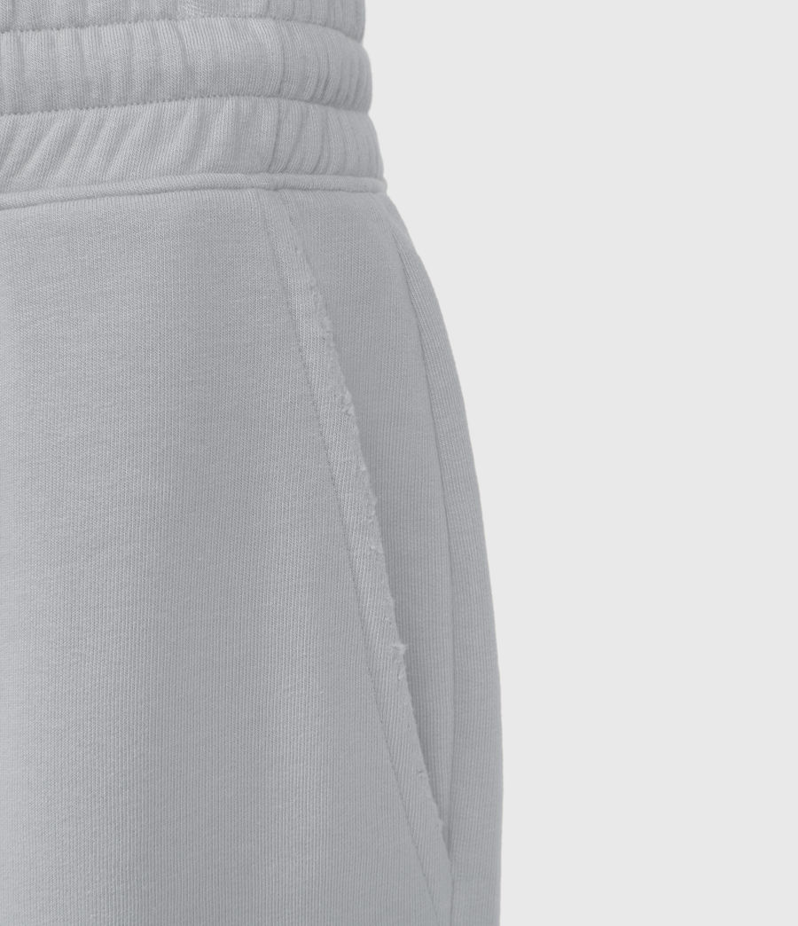 Mens Helix Sweat Shorts (lithium_grey) - Image 4