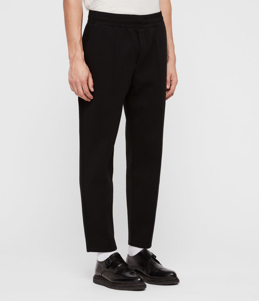 Men's Hibard Sweat Pants (jet_black) - Image 3