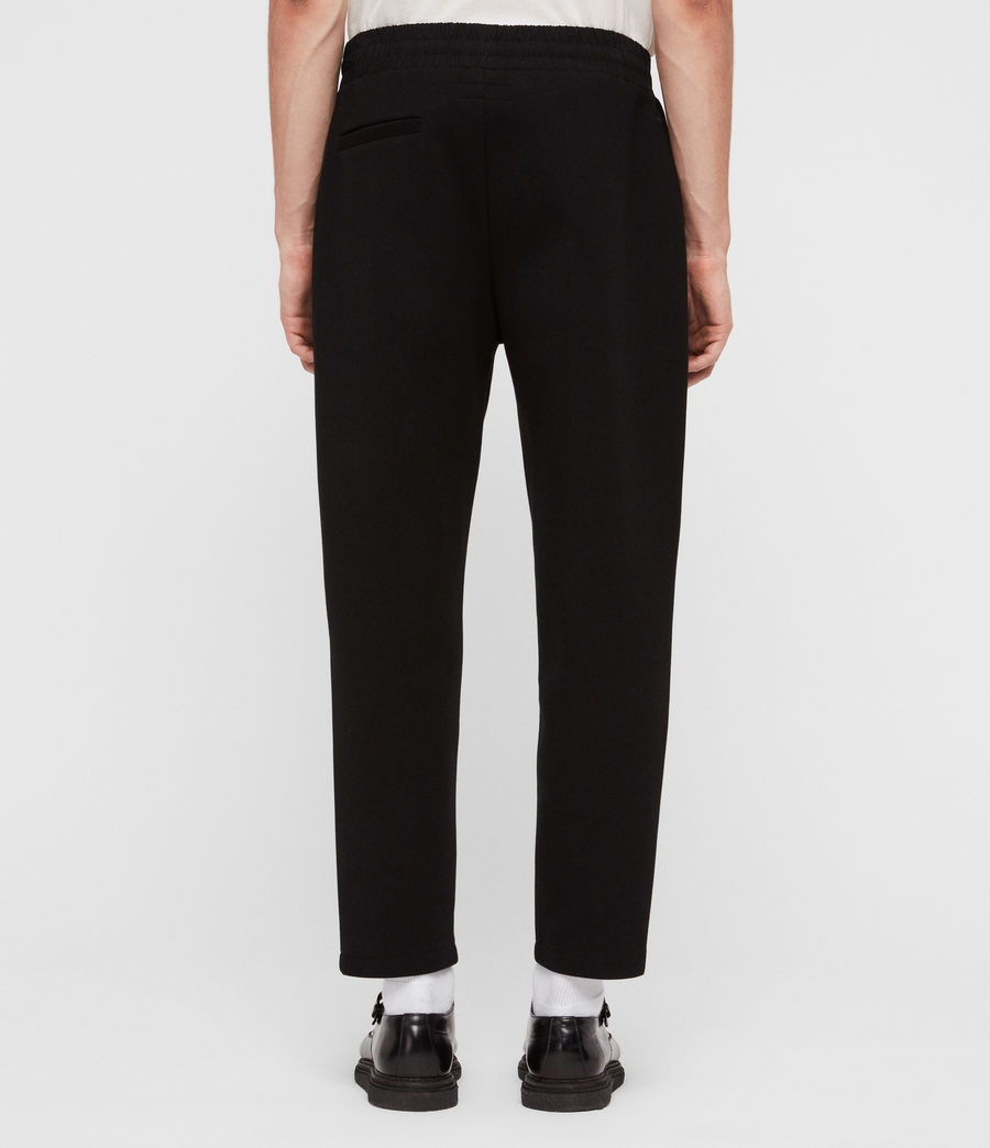 Men's Hibard Sweat Pants (jet_black) - Image 4