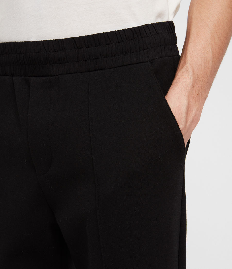 Men's Hibard Sweat Pants (jet_black) - Image 5
