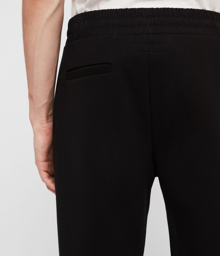 Men's Hibard Sweat Pants (jet_black) - Image 6
