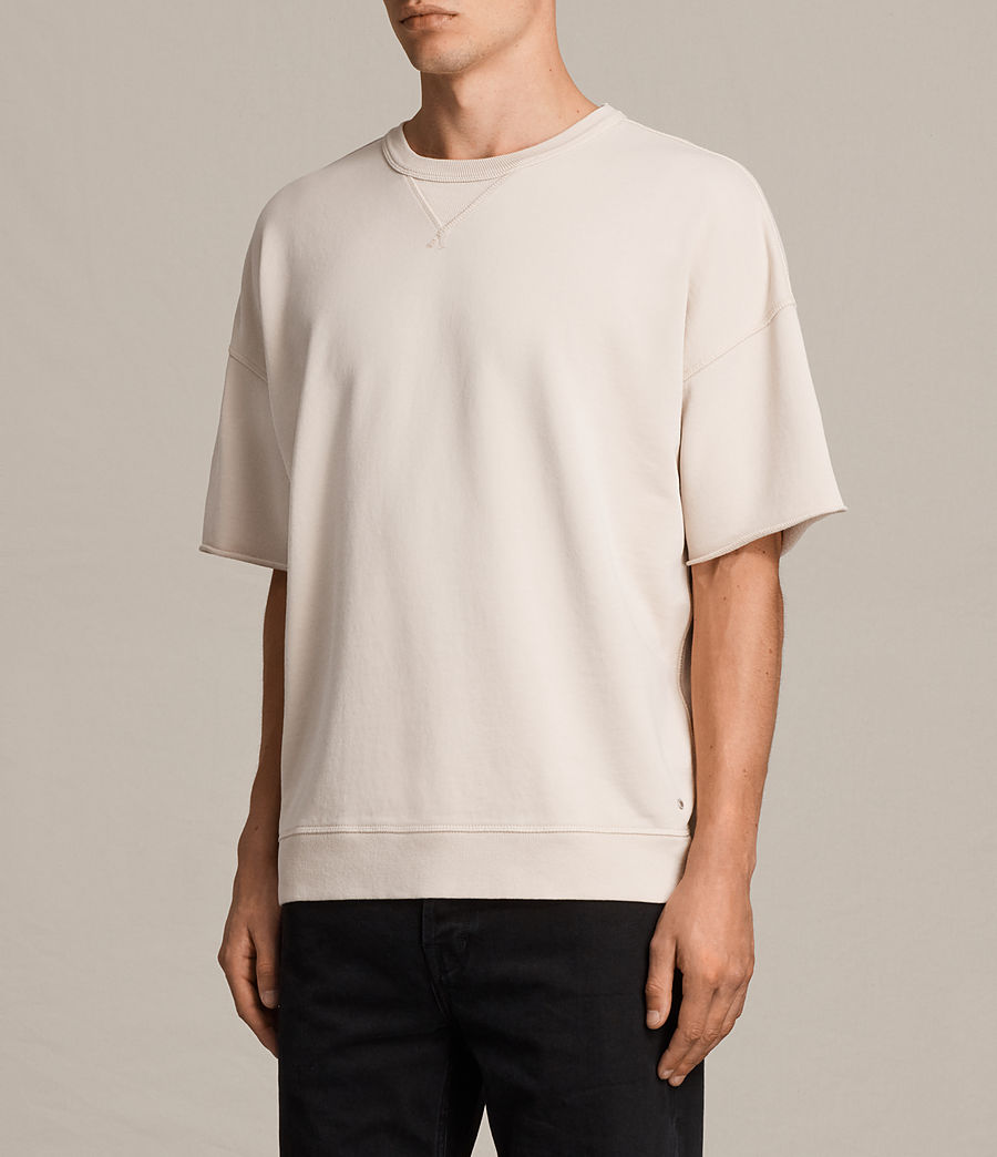 Men's Formin Short Sleeve Crew Sweatshirt (quartz_pink) - Image 3