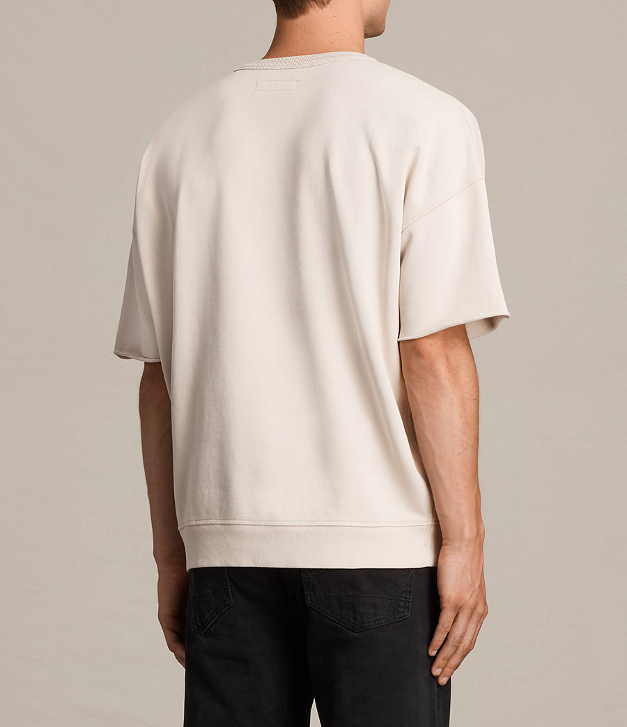 Men's Formin Short Sleeve Crew Sweatshirt (quartz_pink) - Image 4