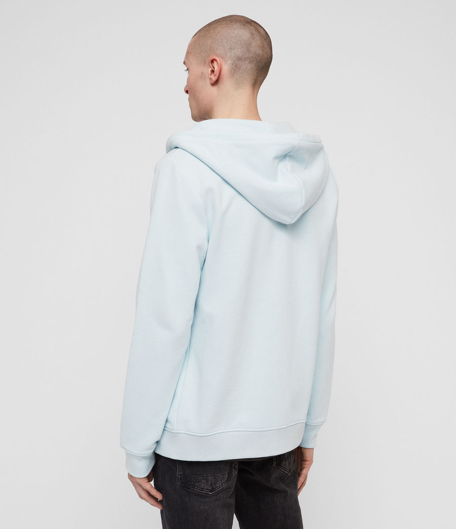 Men's Raven Zip Hoodie (light_aqua_blue_ml) - Image 4