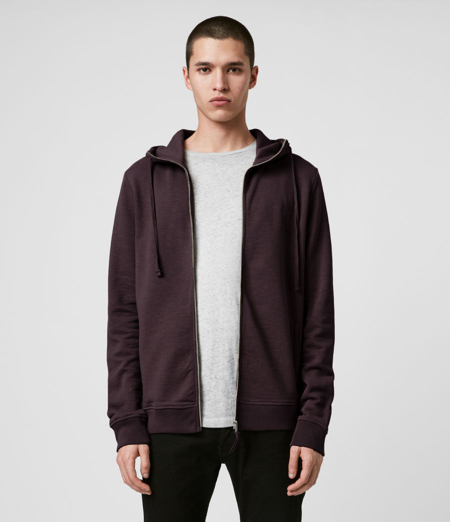 Mens Lutra Hoodie (mahogany_red) - Image 1