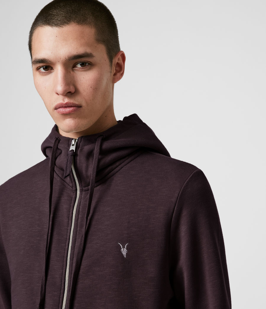 Mens Lutra Hoodie (mahogany_red) - Image 2