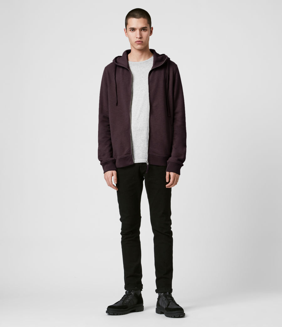 Mens Lutra Hoodie (mahogany_red) - Image 3