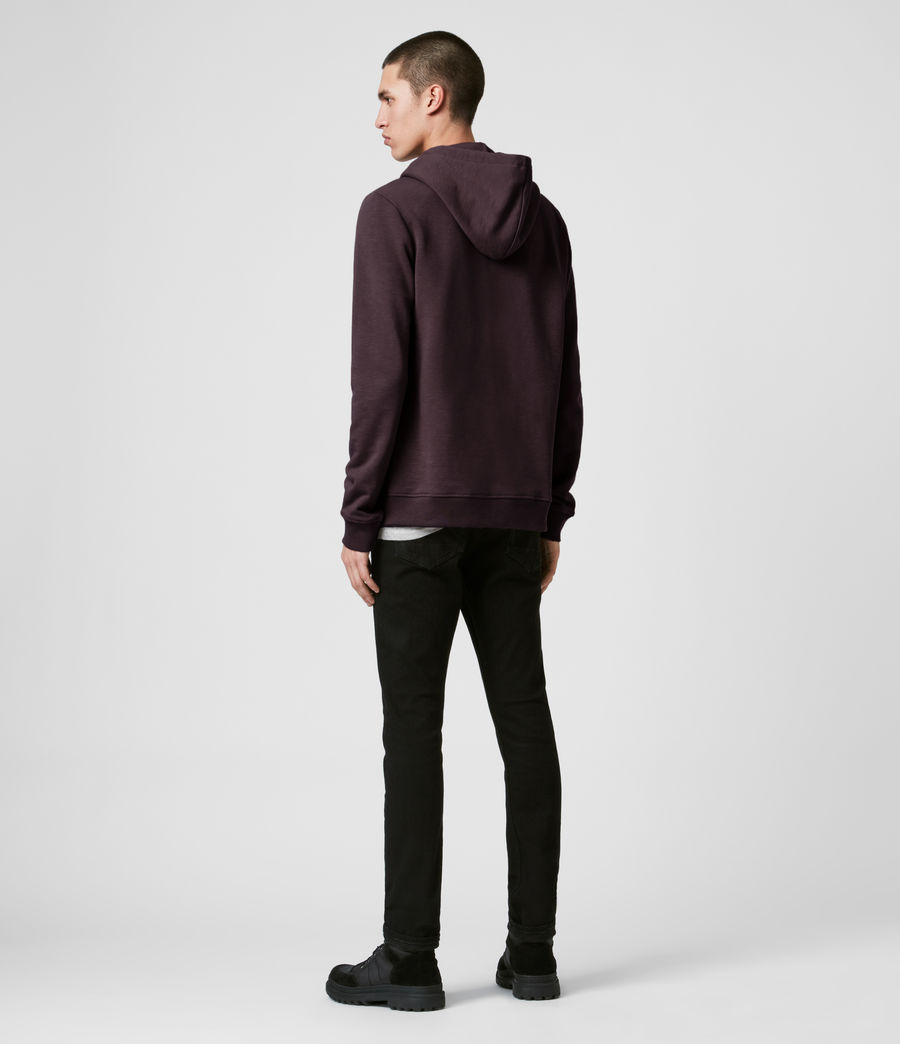 Mens Lutra Hoodie (mahogany_red) - Image 4