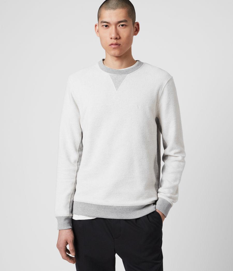 Men's Reverser Crew Sweatshirt (mid_grey_marl) - Image 1