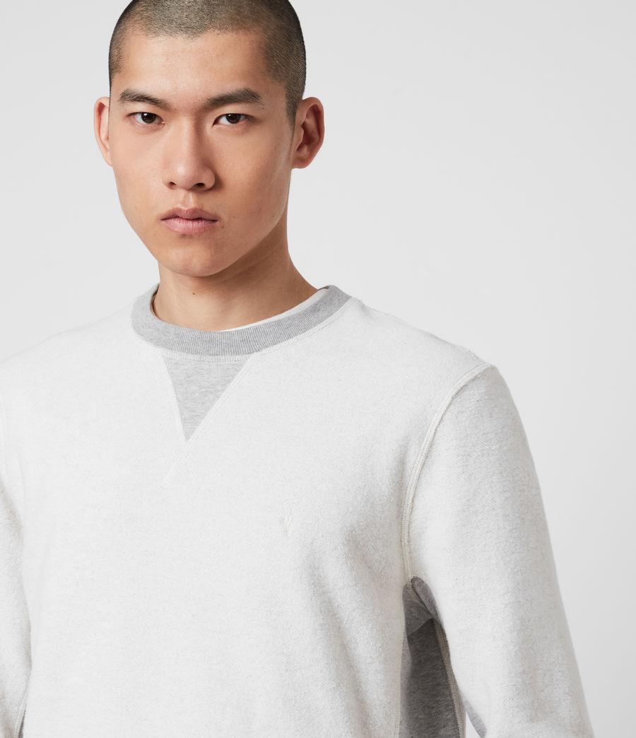 Men's Reverser Crew Sweatshirt (mid_grey_marl) - Image 2