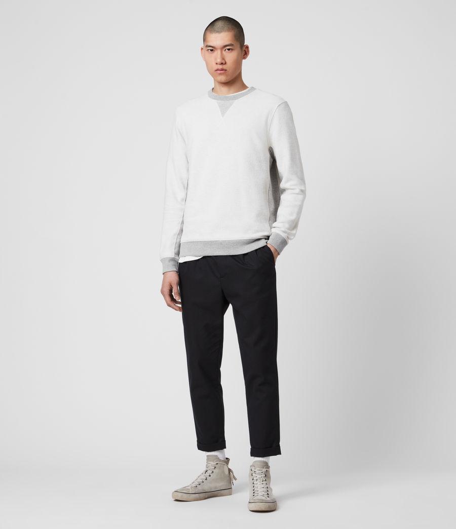 Men's Reverser Crew Sweatshirt (mid_grey_marl) - Image 3