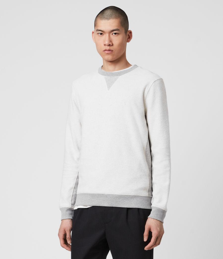 Men's Reverser Crew Sweatshirt (mid_grey_marl) - Image 4