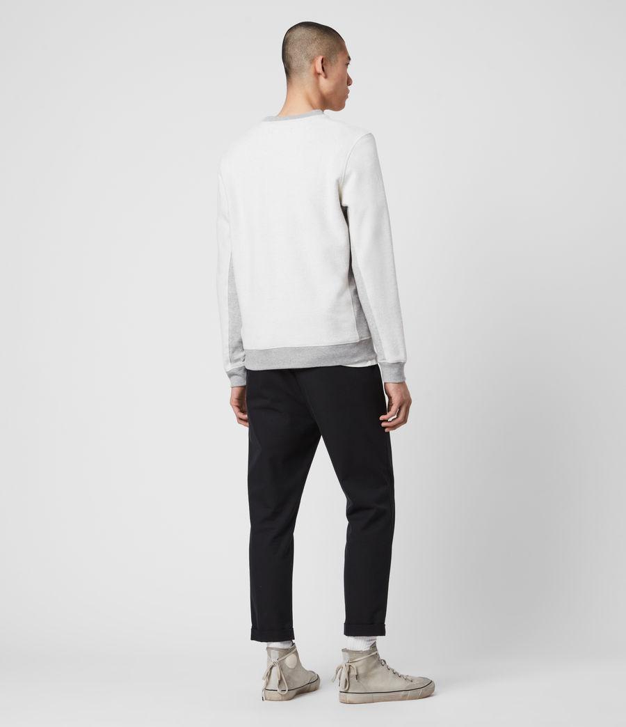 Men's Reverser Crew Sweatshirt (mid_grey_marl) - Image 5