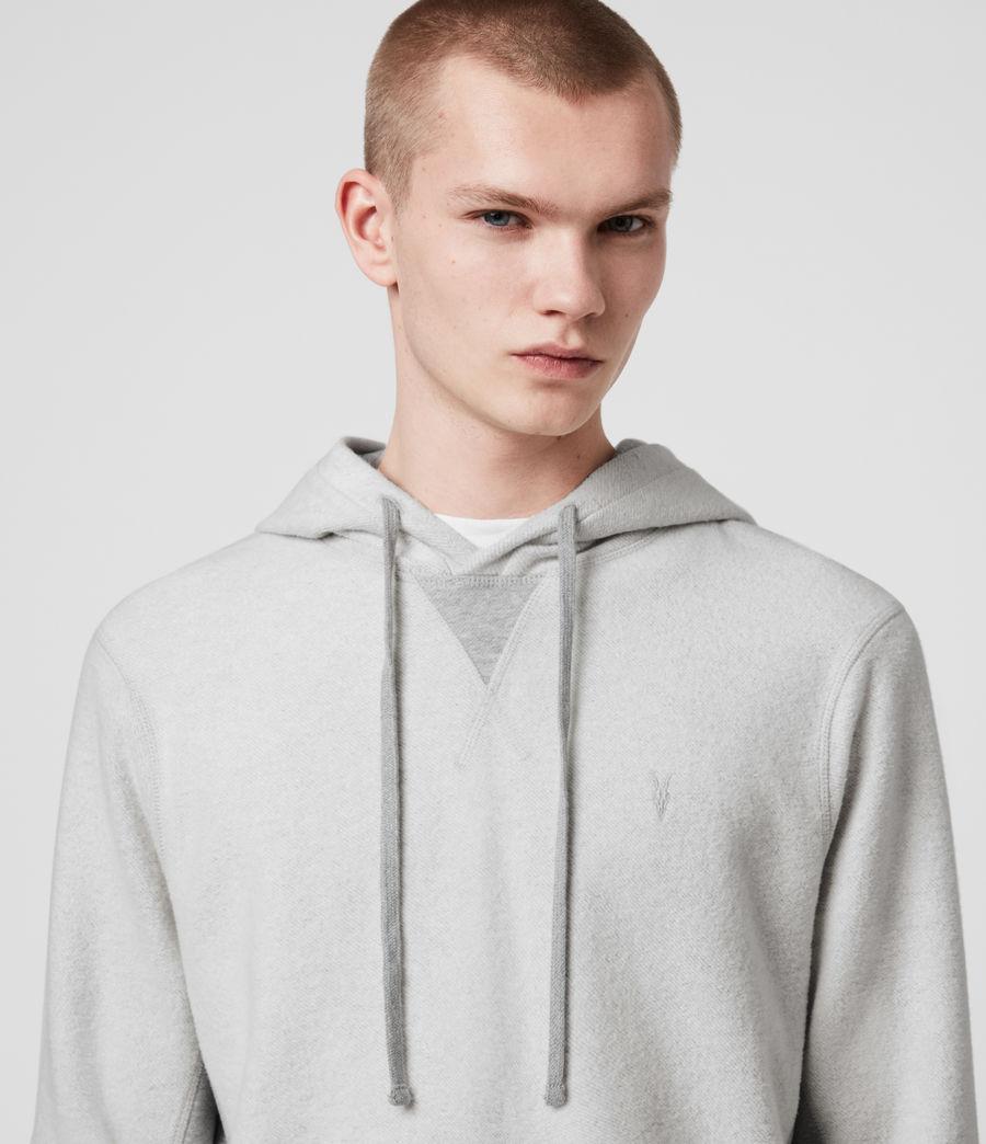 Hombre Reverser Pullover Hoodie (mid_grey_marl) - Image 2